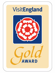 VisitEngland Gold Award Winner